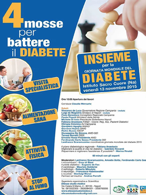 4 Mosse per combattere il diabete