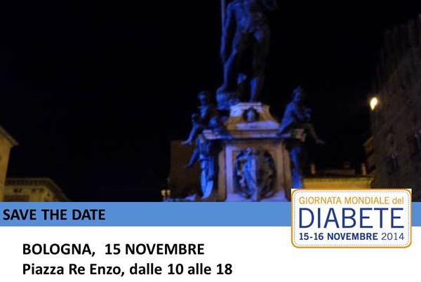 Bologna giornata mondiale diabete 2014
