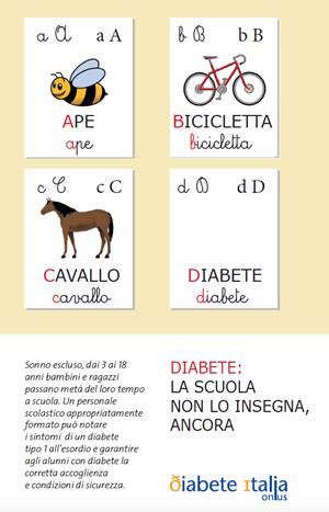 Diabete 1 – cosa la scuola può imparare e insegnare