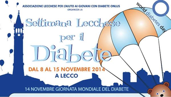 LECCO, Dal 8 al 11 novembre torna la Settimana lecchese del diabete