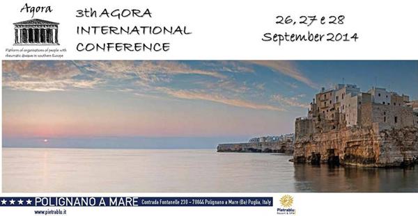 Si svolge in Italia la 3° Conferenza Internazionale AGORA - Un'alleanza europea contro le malattie reumatiche