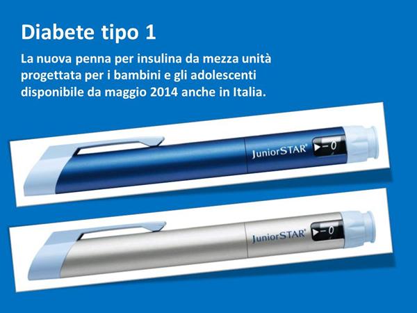 JuniorStar nuova penna per insulina