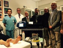 Città di Castello: Un nuovo ossimetro transcutaneo per affrontare il piede diabetico