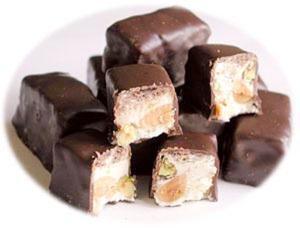 diabete torroncini cioccolato e mandorle