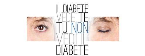 Il diabete vede te e tu non vedi il diabete