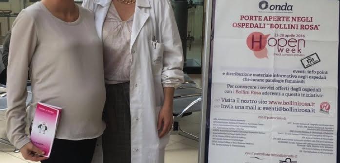 "HOpen Week, Porte aperte negli Ospedali ""Bollini Rosa"","