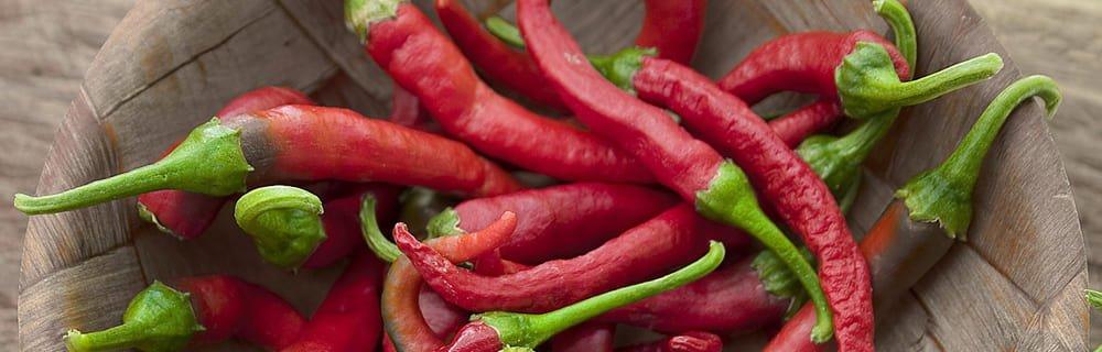 Un peperoncino al giorno...benefici, quantità, usi.