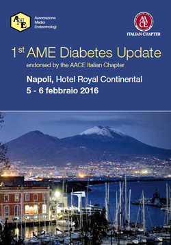1st AME Diabetes Update endorsed by the AACE Italian Chapter