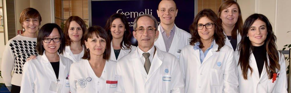Il team diabete del Policlinico Gemelli, Roma - Prof. A. Giaccari