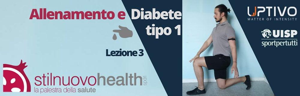 Allenamento Diabete tipo 1 - la 3° lezione con Matteo (Diabet Health 1)