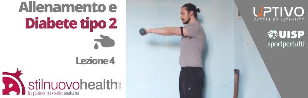 Allenamento Diabete tipo 2 – La 4° lezione con Matteo (Diabet Health 2)