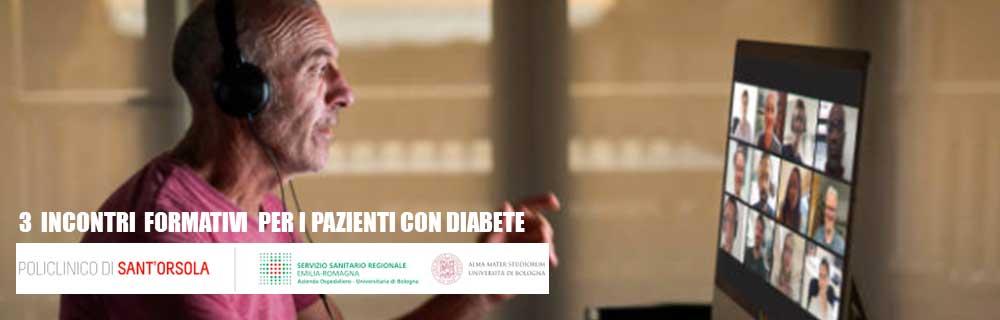 Gestione del diabete: tre incontri formativi per i pazienti dalla Diabetologia del S.Orsola di Bologna